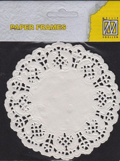 lot de 12 napperons 11,5 cm