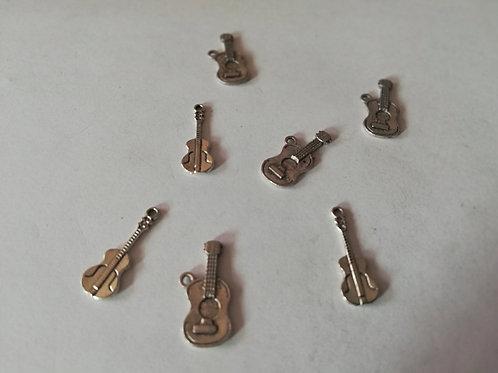 lot de  7 breloques guitare