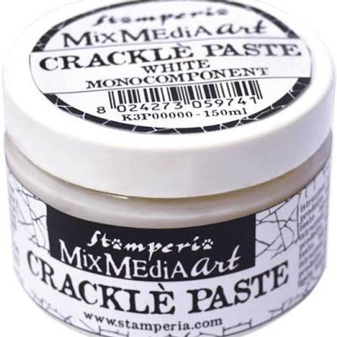 Crackle Paste Stamperia