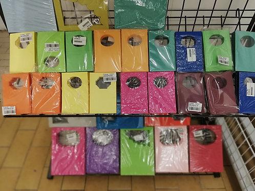 lot surprise de 25 cartes colore