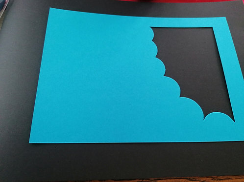 double carte Bleu 10x15 cm
