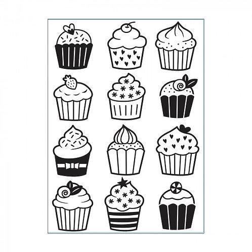 Classeur de gaufrage cupcake