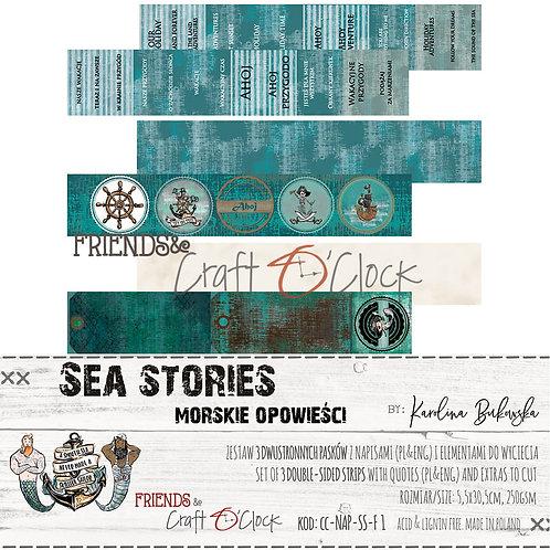 """Sea Stories"" 30,5 x 5,5 cm 250g"
