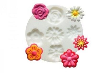 Moule Silicone fleurs