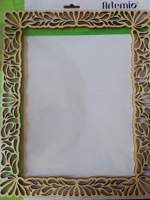 cadre en bois 25x30 cm