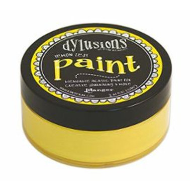 Dylusions Paint lemon