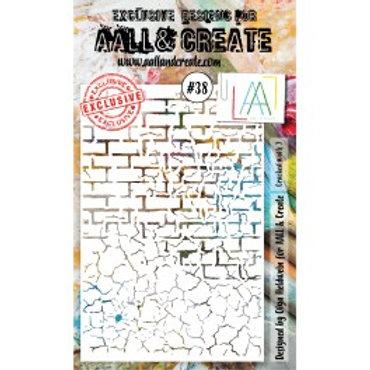 Pochoir AALL & CREATE N° 38