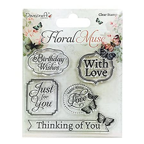 Tampon clear floral muse