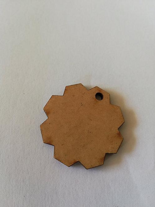 Embellissement Rouage 4 cm