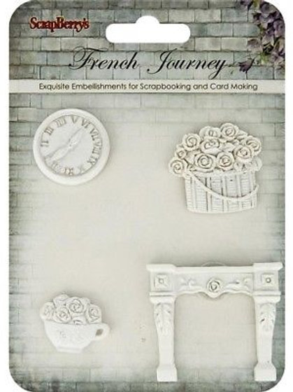 """Sujet en resine """"French journey 3"""""""