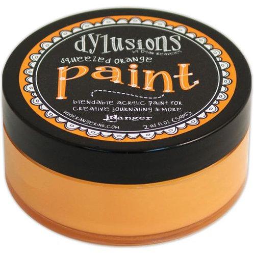 Dylusions Paint orange