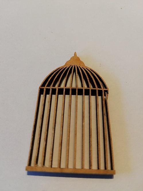 embellissement bois 2 mm cage a oiseaux  3 x 5 cm