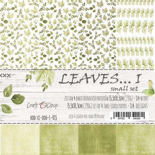 Lot de 3 feuilles Leaves... I