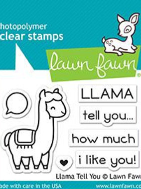 Tampon clear Lama tell you
