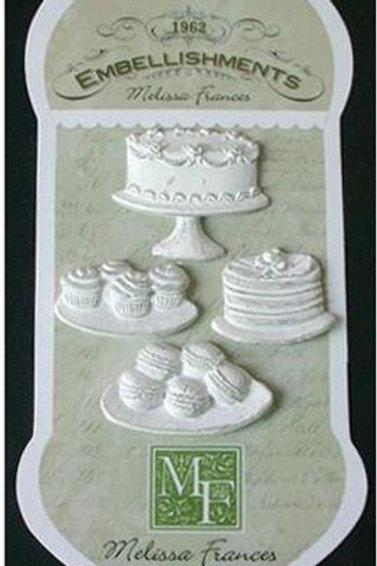 Lot de résine gâteaux CXJA889