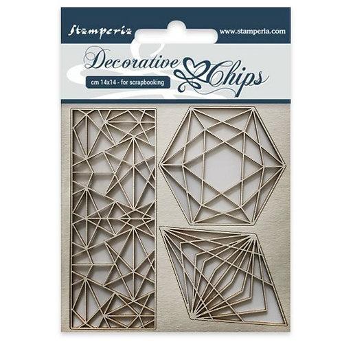 stamperia Decoration chips SCB28