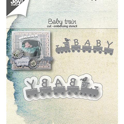 Matrice de découpe Baby train