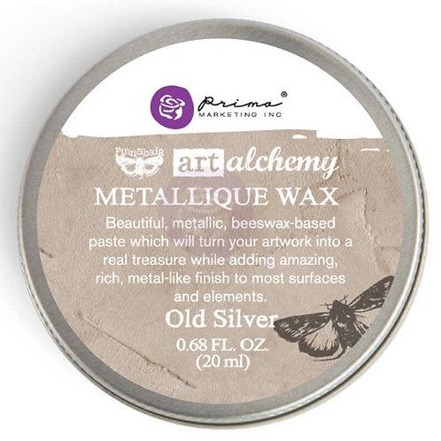 WAX art alchemy Old silver
