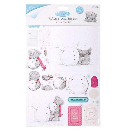 Kit carte hivernale mobile Me To You