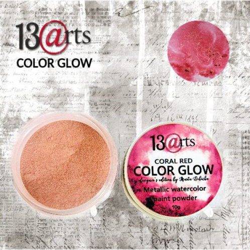 COLOR GLOW 13@rts Rouge corail