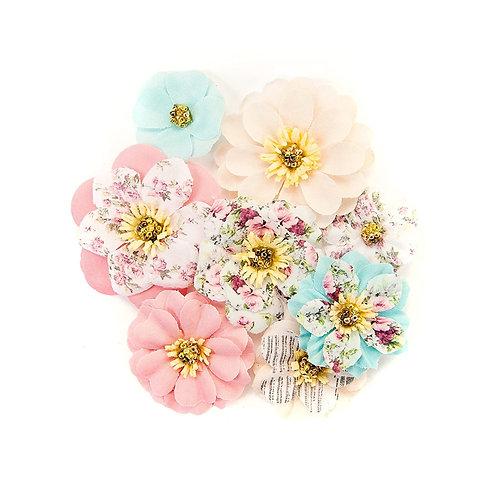 Lot de fleurs avec cadre en papier Prima Marketing