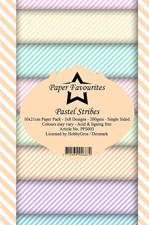 BLOC 24 Papier 24x10 cm Paper favorites PFS003