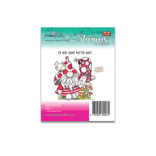 Clear Polka doodles PD8077
