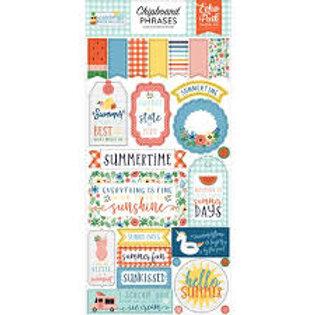 Chipboard Carton Summertime