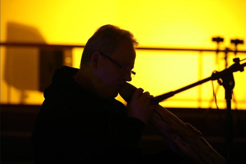 Didgeridoo tijdens Ziemia
