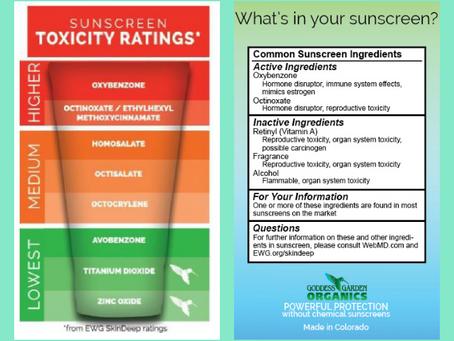 Toxic Sunscreen