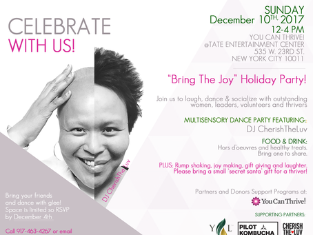"""Bring the Joy"" Dance Party-Dec 10th 12-4pm"