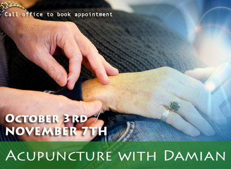 Acupuncture for life and energy