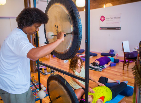 Join You Can Thrive! for Sound Meditation & Reiki Restoration