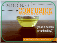 The Canola Oil Con
