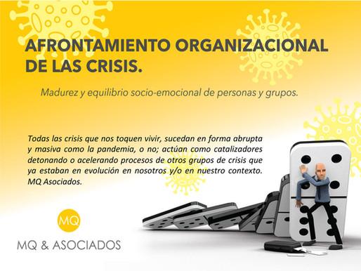Afrontamiento organizacional de las crisis