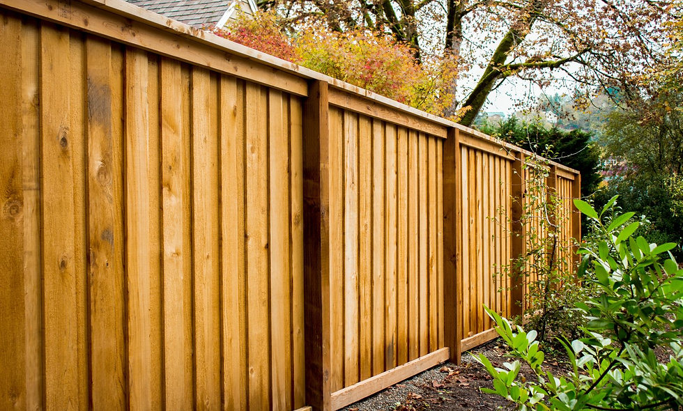 Wooden Fencing Large