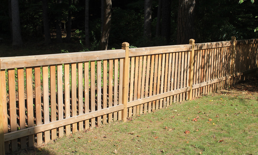Wooden Fencing Small