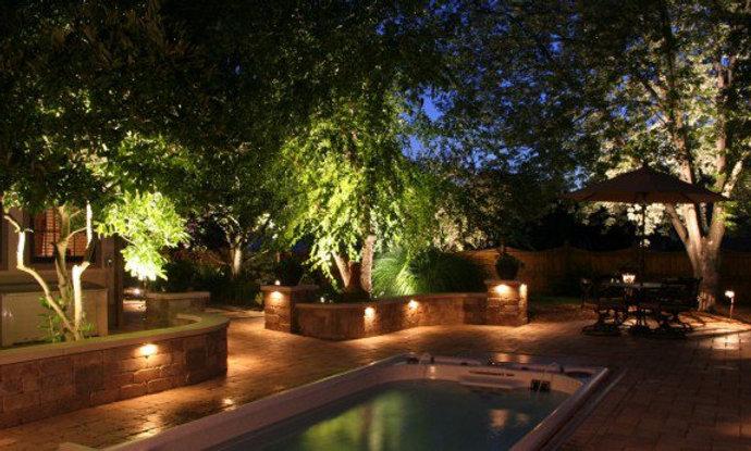 Backyard Lighting Large