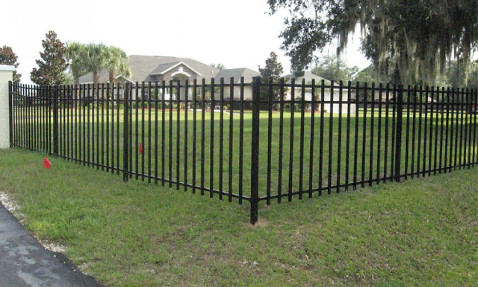 Metal Fencing Large