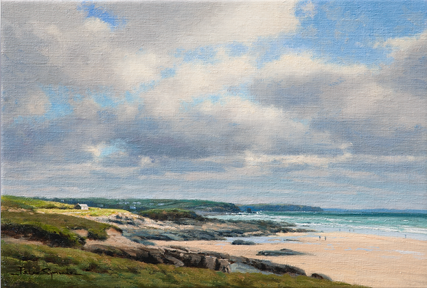 PETER SYMONDS | Late Afternoon, Boobys Bay, Cornwall