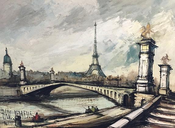 FRANK DEPRESLE | Le Pont Alexandre III, Paris