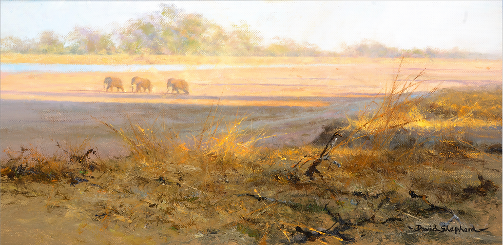 Three's a Crowd, Painted in 1978