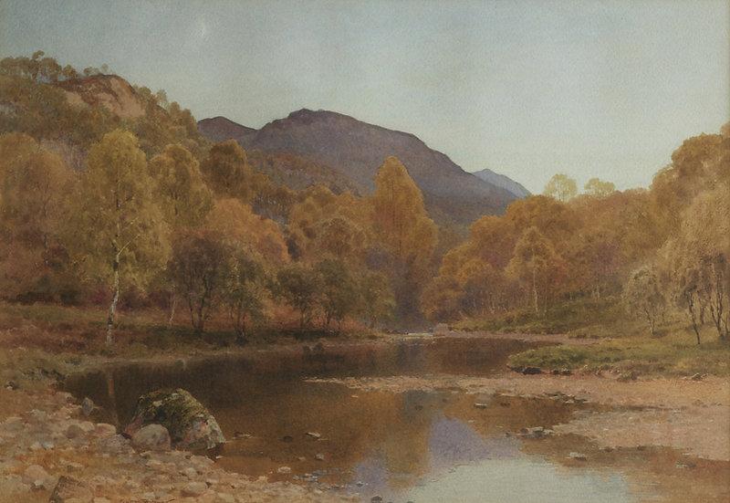 An Upland River Landscape