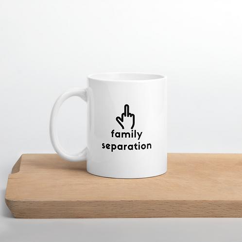 F Family Separation Mug