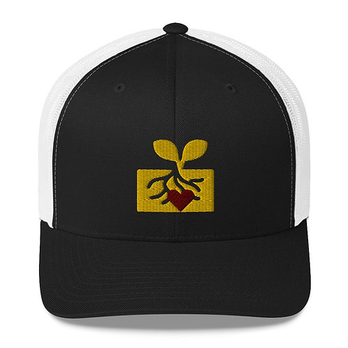 Heart In Roots Trucker Cap