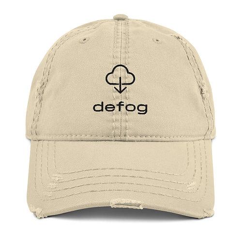 Defog Distressed Hat