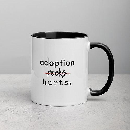 Adoption Hurts Mug