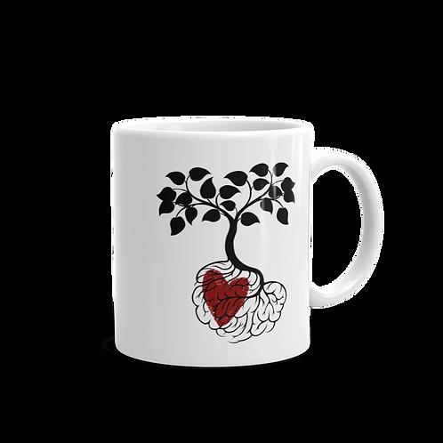 Heart In Roots Mug
