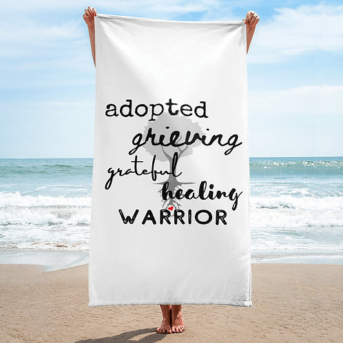 Adoptee Warrior Towel