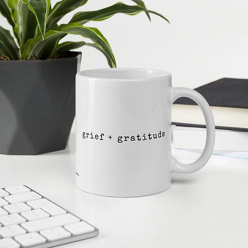 Grief + Gratitude Mug